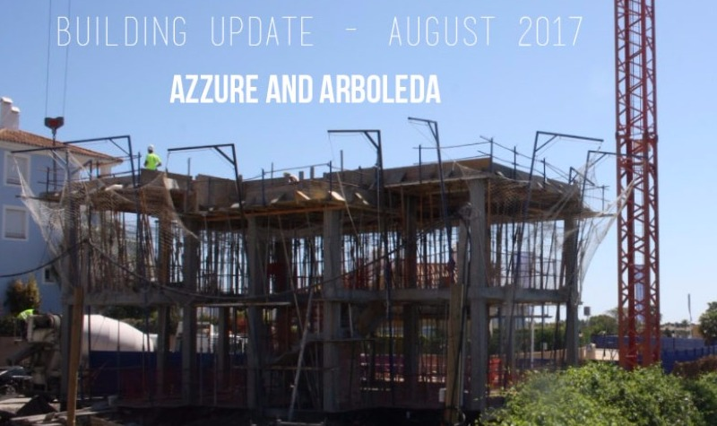 Building Progress Azure and Arboleda