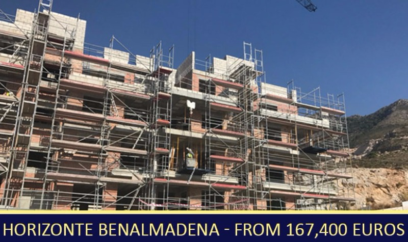 Building Progress at Horizonte Benalmadena