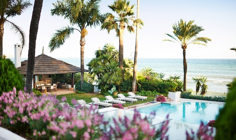 What makes The Marbella Club Hotel so prestigious?