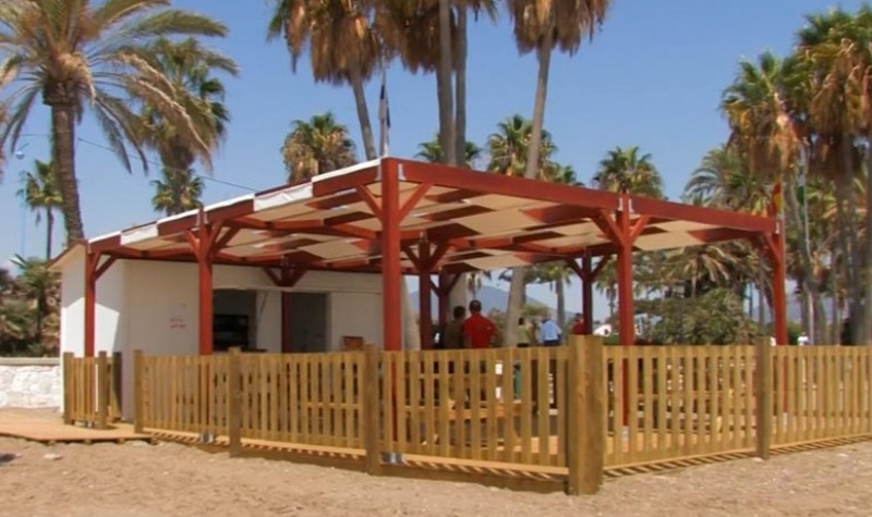 New Library Open on the Beach in San Pedro Alcántara