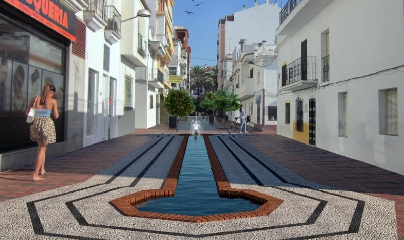 Marbella will invest 1.2 million in the remodeling of calle Pizarro in San Pedro de Alcantara
